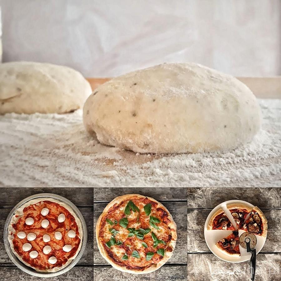 Ciasto na pizzę według pięciu przemian