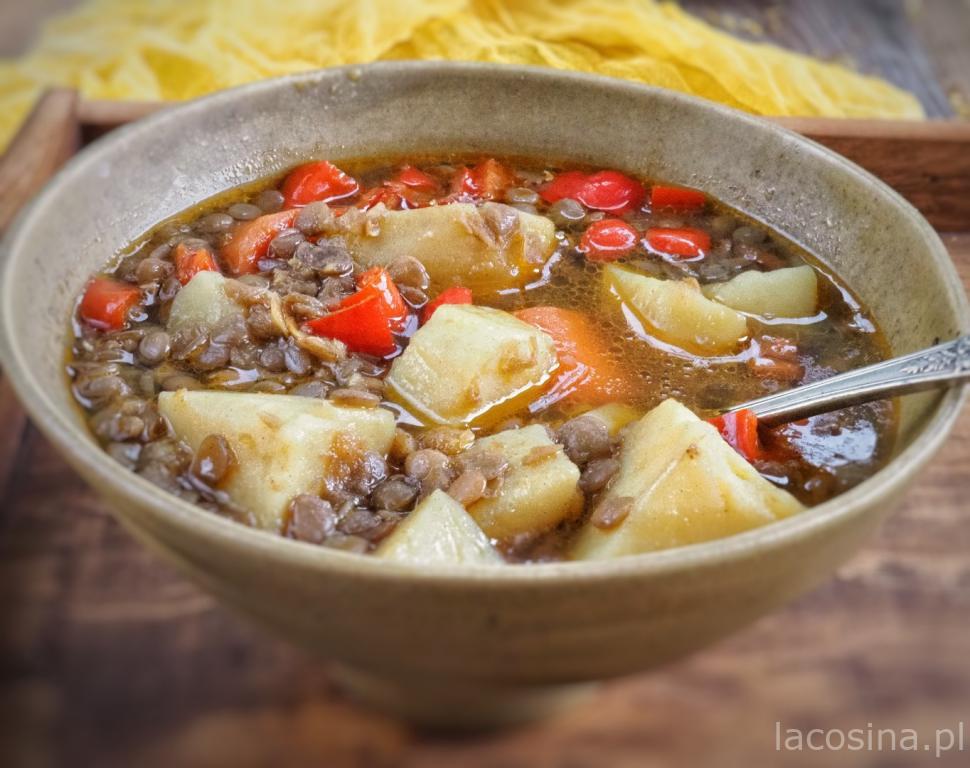Lenteja – hiszpańska zupa z soczewicy