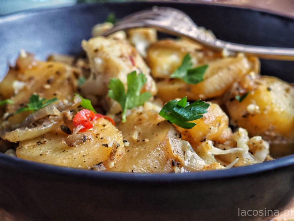 Curry z ziemniaków i kalafiora