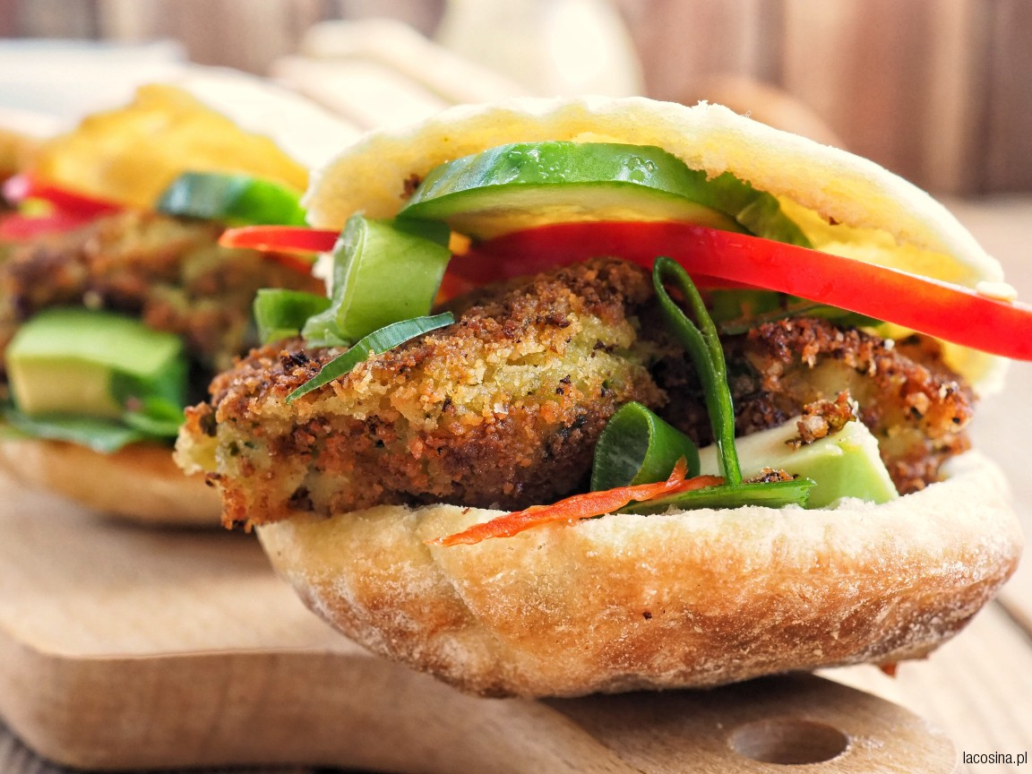 Warzywny kebab