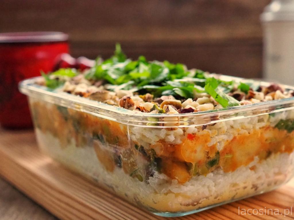 Biriyani – zapiekany ryż z warzywami
