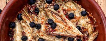 Pizza ze szpinakiem i gorgonzolą