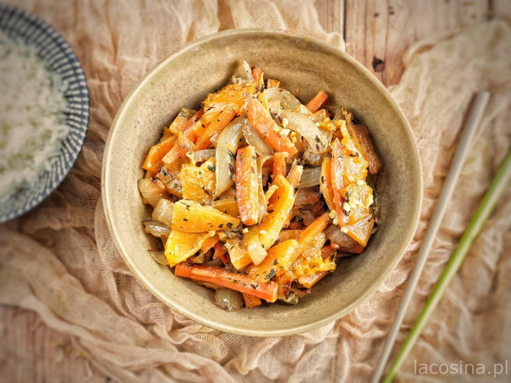 Curry z dyni i marchewki