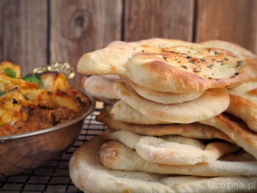 Naan – indyjski chlebek