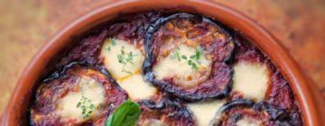 Tarta z kozim serem i grillowanymi warzywami